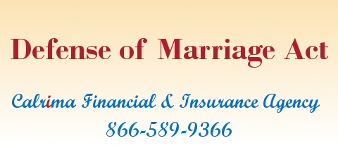 Defense of Marriage Act - DOMA